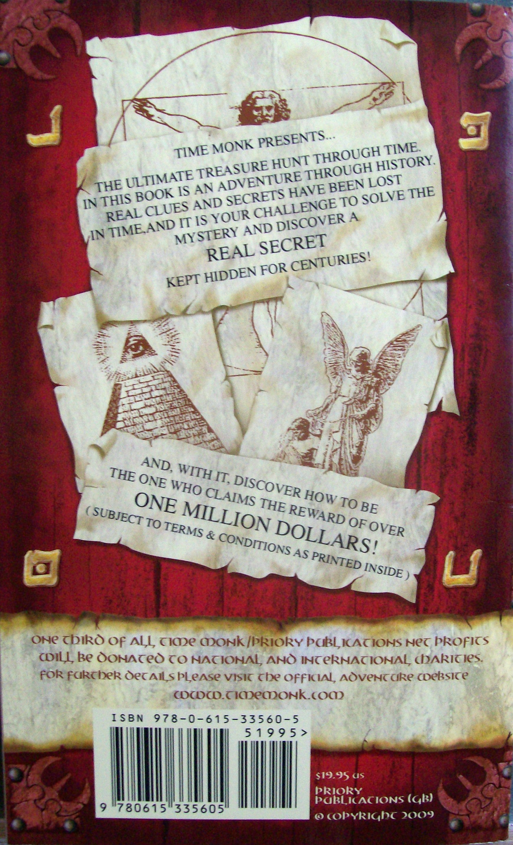 Back Cover of 2nd Version