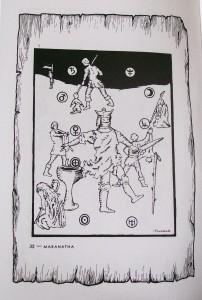 maranatha et in arcadia ego puzzle image