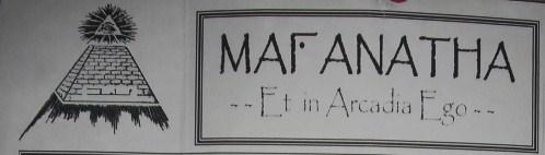 maranatha puzzle parchment