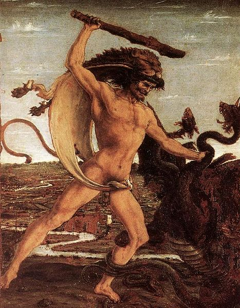 467px-Hercules_and_the_Hydra_-_Antonio_del_Pollaiolo[1]