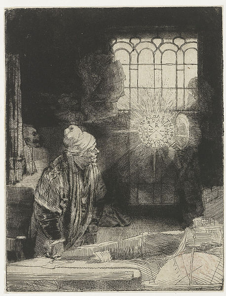 The Mysterious Light of Rembrandt's Faust