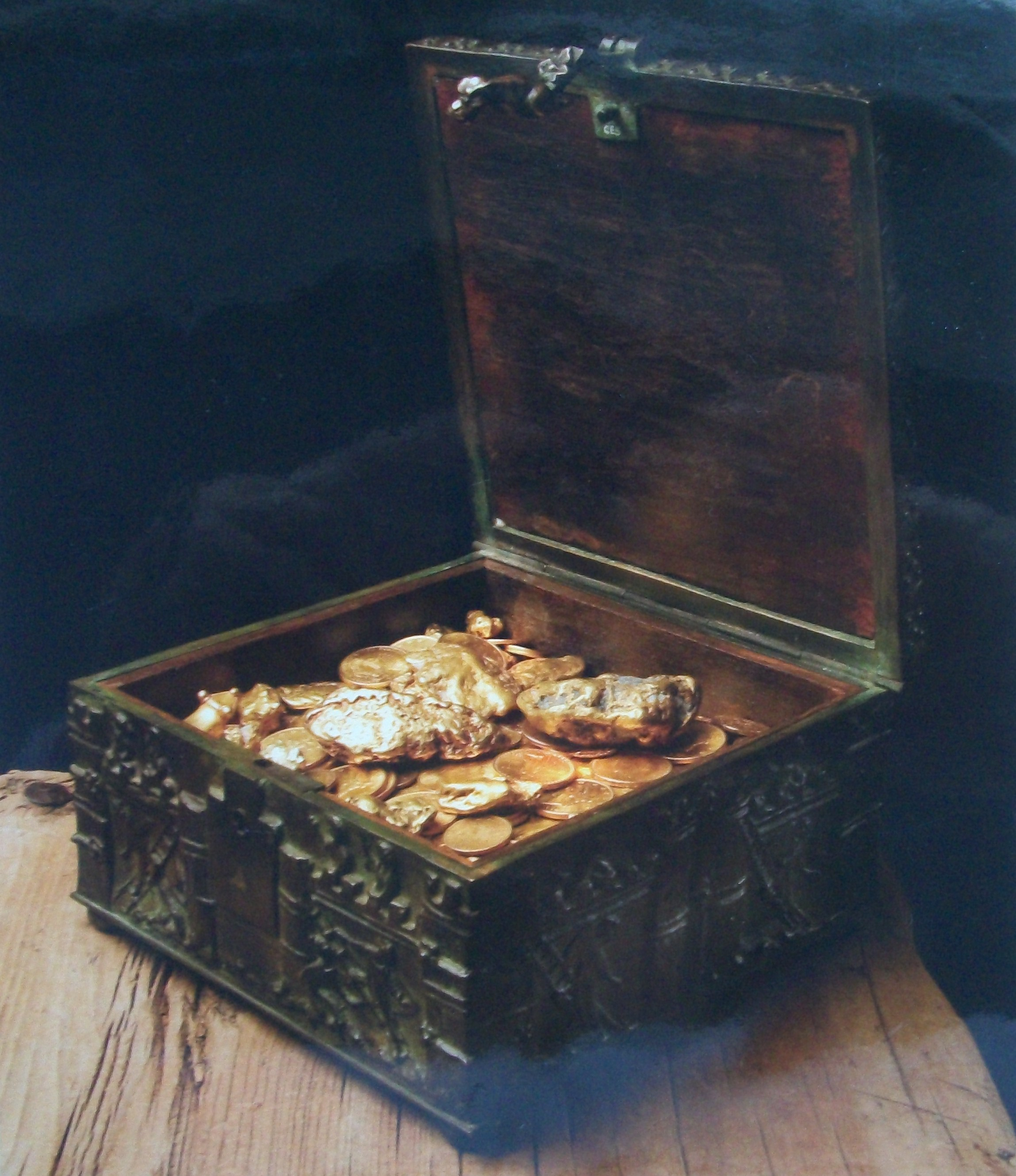 Forrest Fenn's Treasure Chest