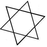 Hexagram Tilted