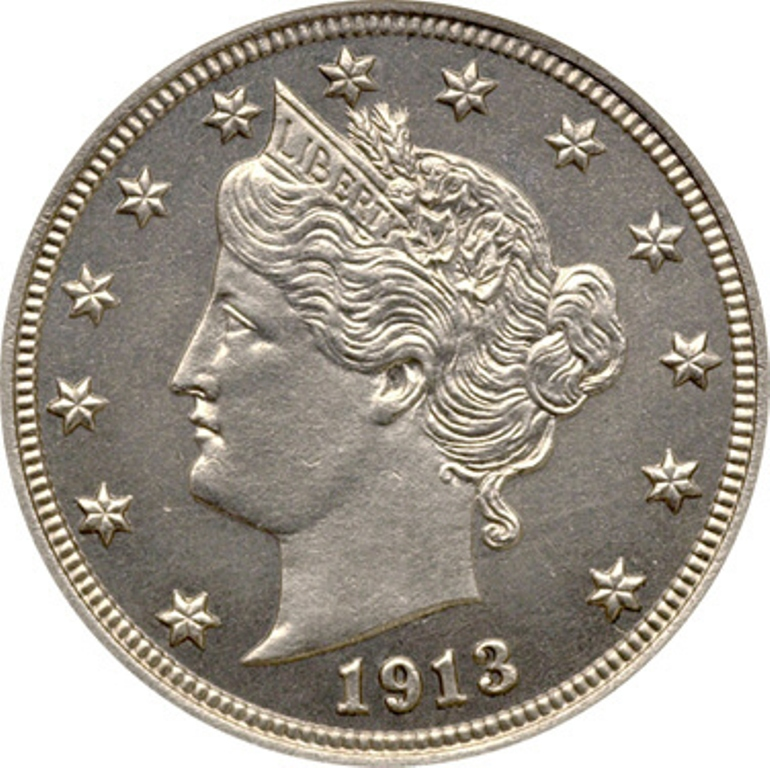 The 1913 Liberty Head Nickels: Five Treasures