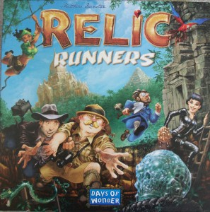 Relic Runner board game