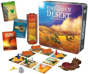 Forbidden Desert Treasure Game