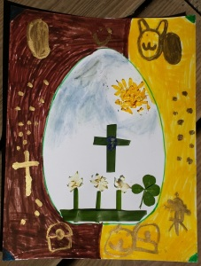 Lucky Easter Picture by Kaden (6 years)