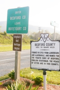 Bedford county line