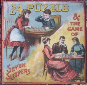 The 24 Puzzle and Game of Seven Sleepers
