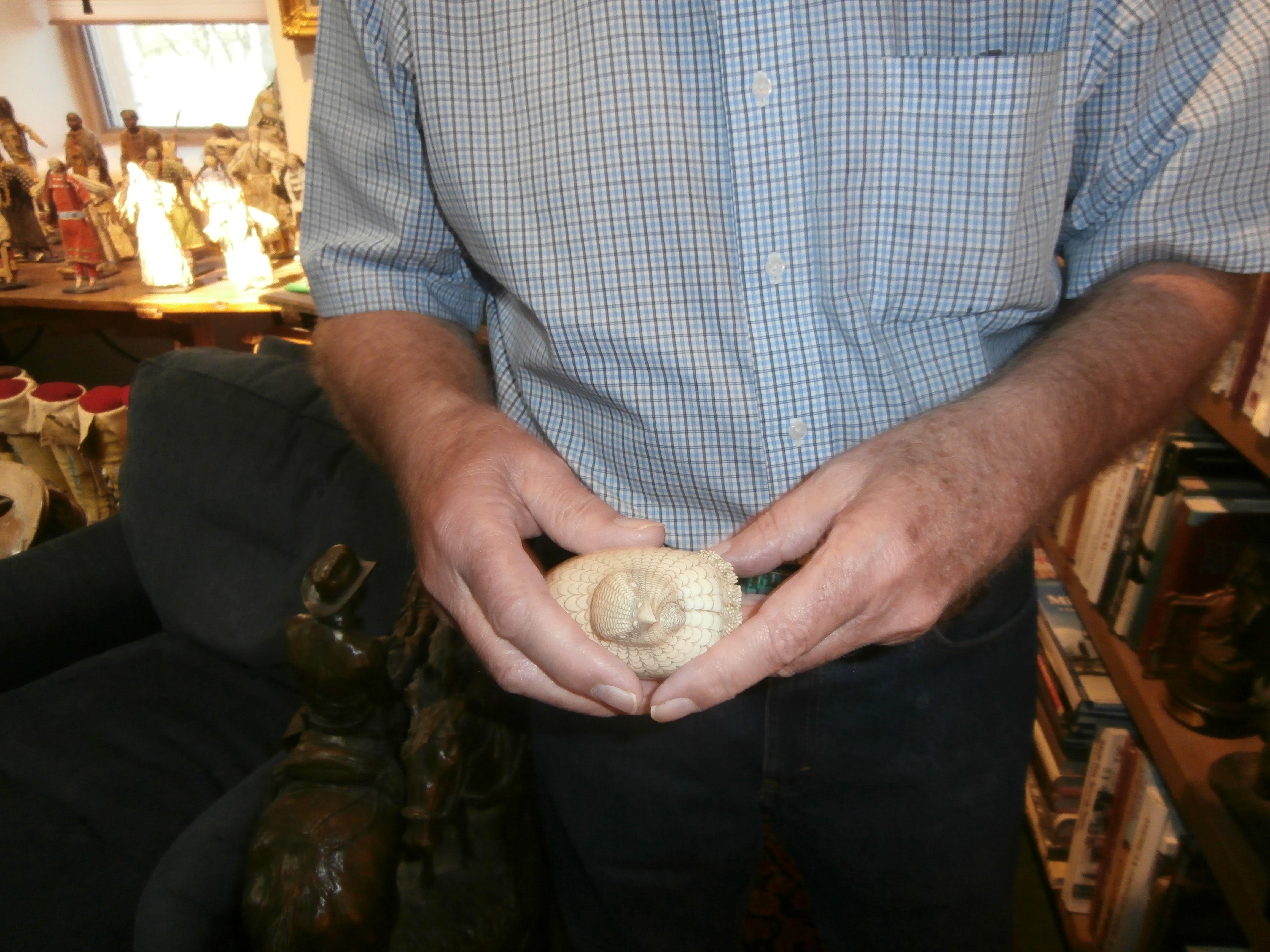 Forrest holding Minerva