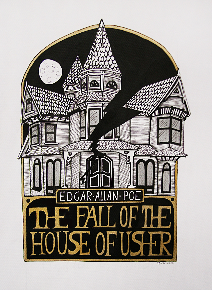 Writing my research paper the fall of the house of usher ...