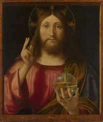 Christ, as Salvator Mundi