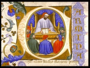 Boethius Teaching Students
