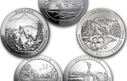 Collecting Treasures: America the Beautiful Quarters 2011