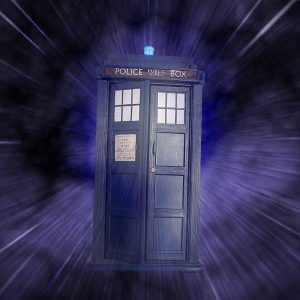 Dr. Who Tardis Photo Credit: By aussiegall from sydney, Australia