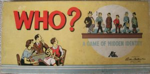 parker brothers old board game who?