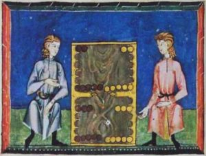 book of games ancient manuscript image