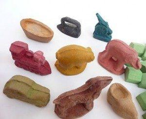 bakelite monopoly pieces