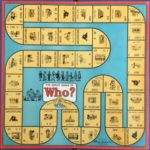 parker brothers 1951 old board game of WHO?