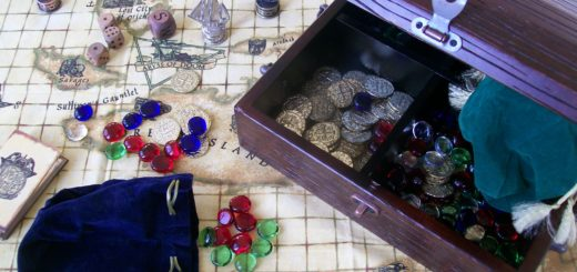 Pirate treasure game