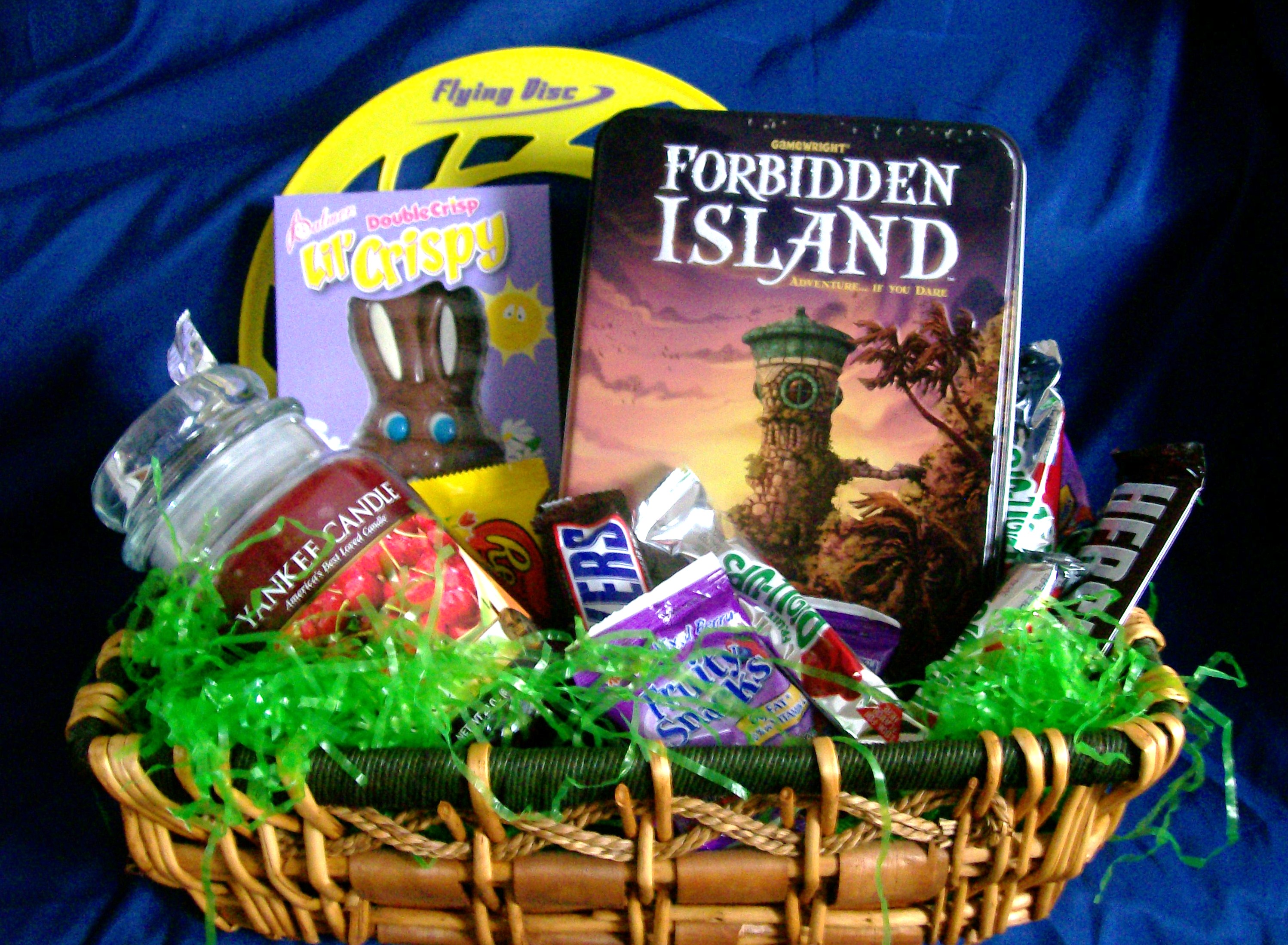 10 fun and games ideas for easter baskets or any time of year easter fun and games gift basket negle Image collections