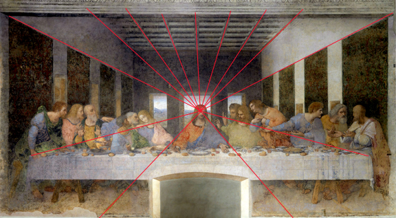 Sacred Geometry last supper Leonardo da vinci