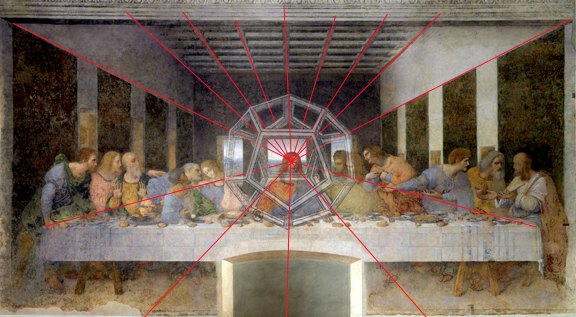 sacred geometry platonic solids secret message last supper