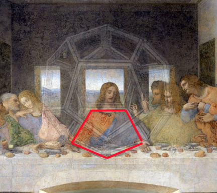 sacred geometry last supper secret code