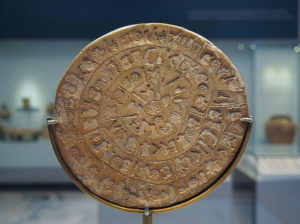 phaistos disk mysterious thing