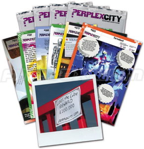 perplex city treasure hunt cards