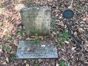 old hill burial grounds grave stone