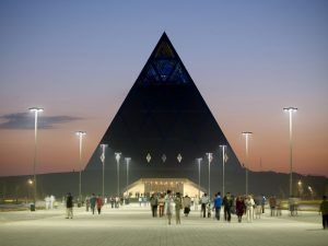 astana pyramid of peace treasure hunt