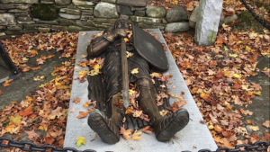 bronze westford knight