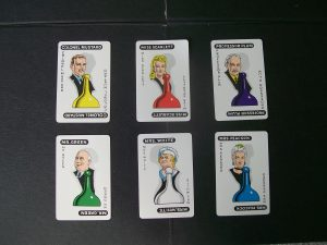 clue board game suspects