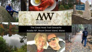 geocache in acadia national park maine