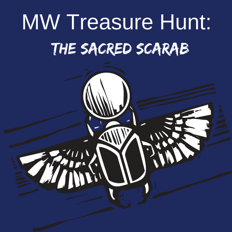 Mw Armchair Treasure Hunt The Sacred Scarab Coming Soon