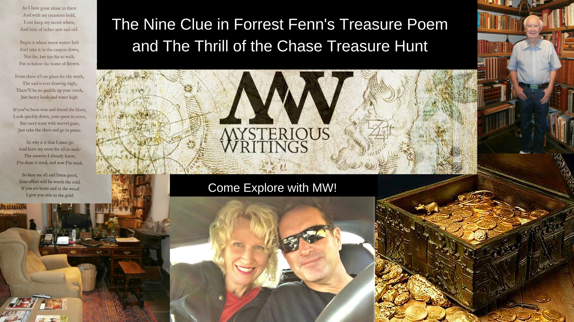 The Nine Clues in Forrest Fenn's Treasure Poem and The Thrill of the