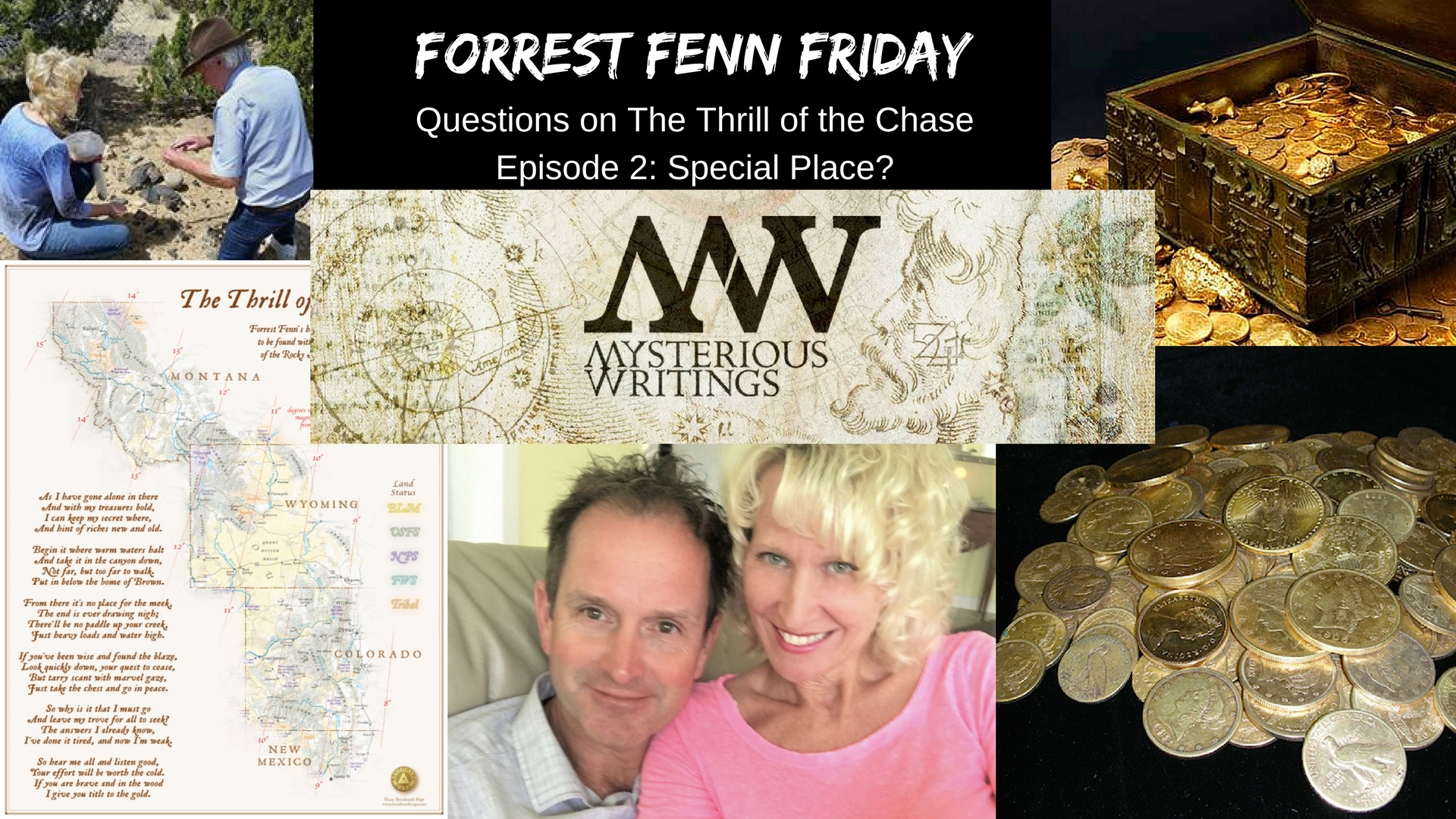 Forrest Fenn Friday: Questions on The Thrill of the Chase