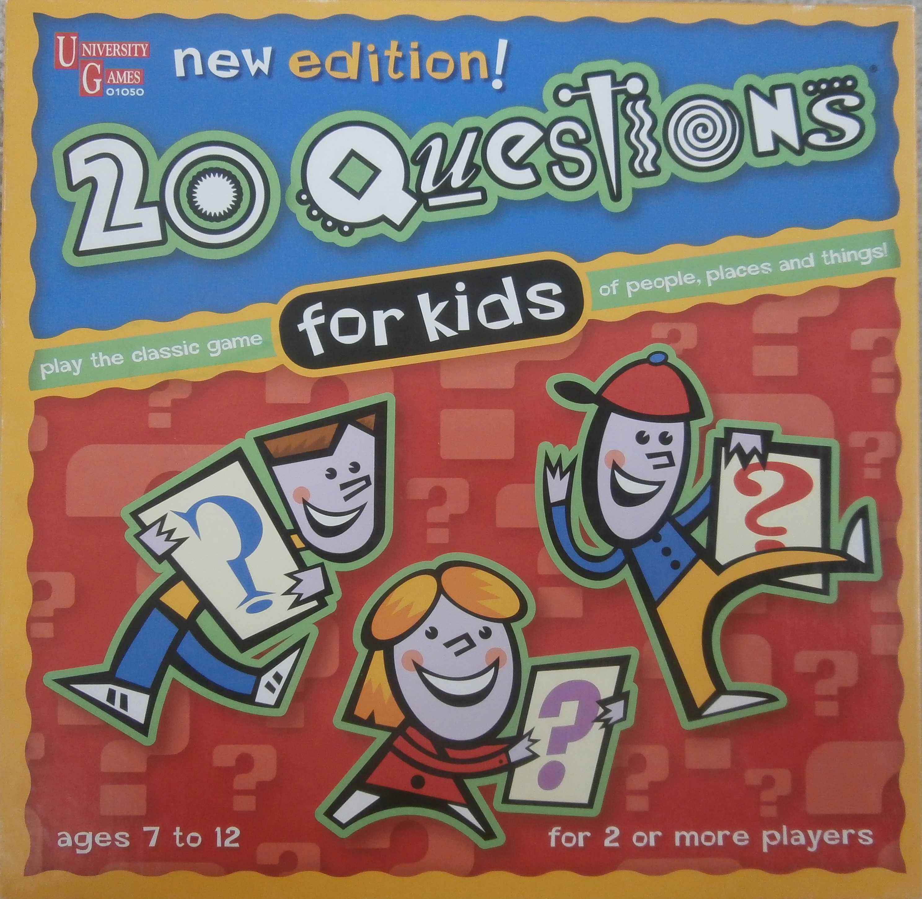 The Family Game of 20 Questions for Kids – Mysterious Writings