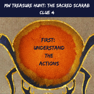 The Mw Treasure Hunt The Sacred Scarab Has Been Solved