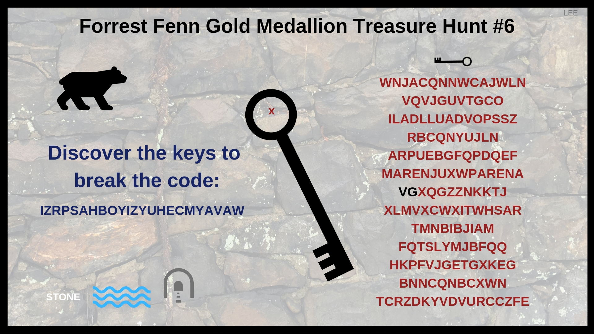 Forrest Fenn Gold Medallion Treasure Hunt #6 Clues